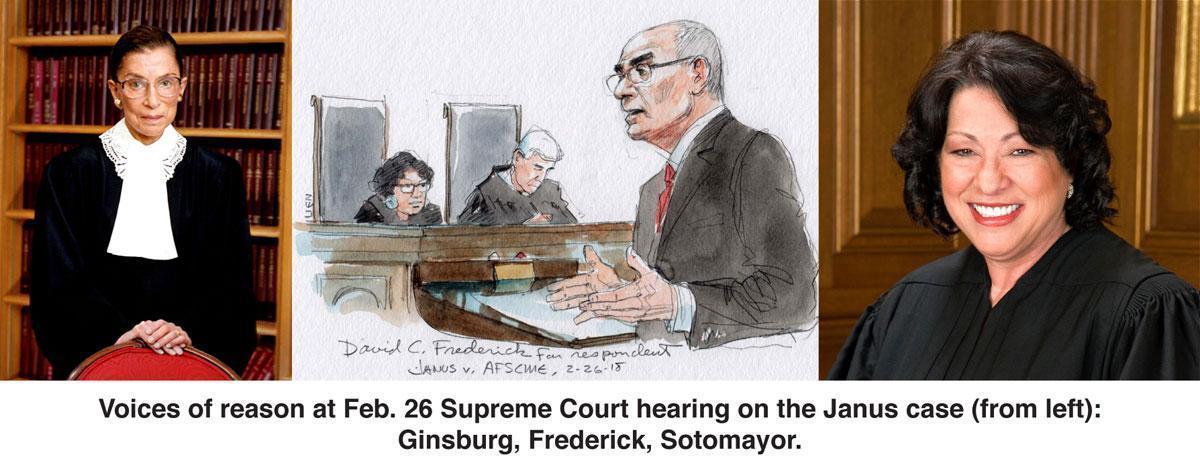 Janus v AFSCME oral arguments